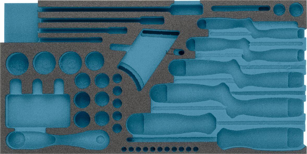 HAZET 2-Komponenten Weichschaum-Einlage 163-356L