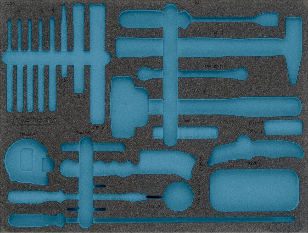 HAZET 2-Komponenten Weichschaum-Einlage 163-372L