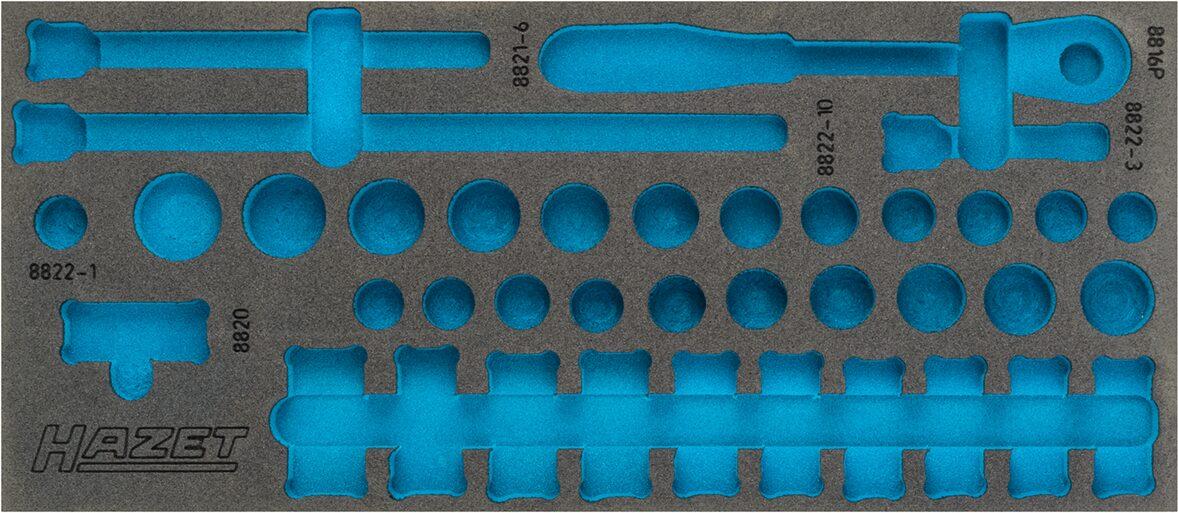 HAZET 2-Komponenten Weichschaum-Einlage 163-379L