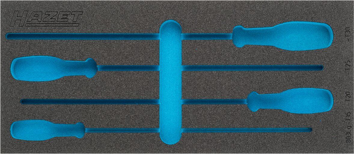 HAZET 2-Komponenten Weichschaum-Einlage 163-380L