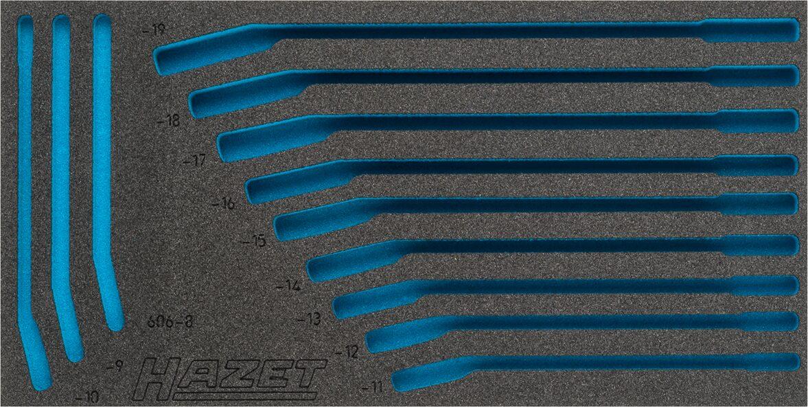 HAZET 2-Komponenten Weichschaum-Einlage 163-385L