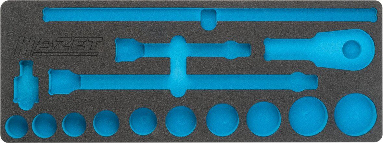 HAZET 2-Komponenten Weichschaum-Einlage 163-396L