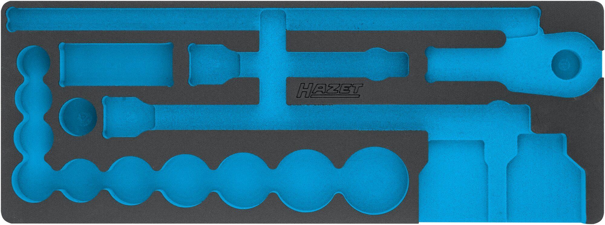 HAZET 2-Komponenten Weichschaum-Einlage 163-399L
