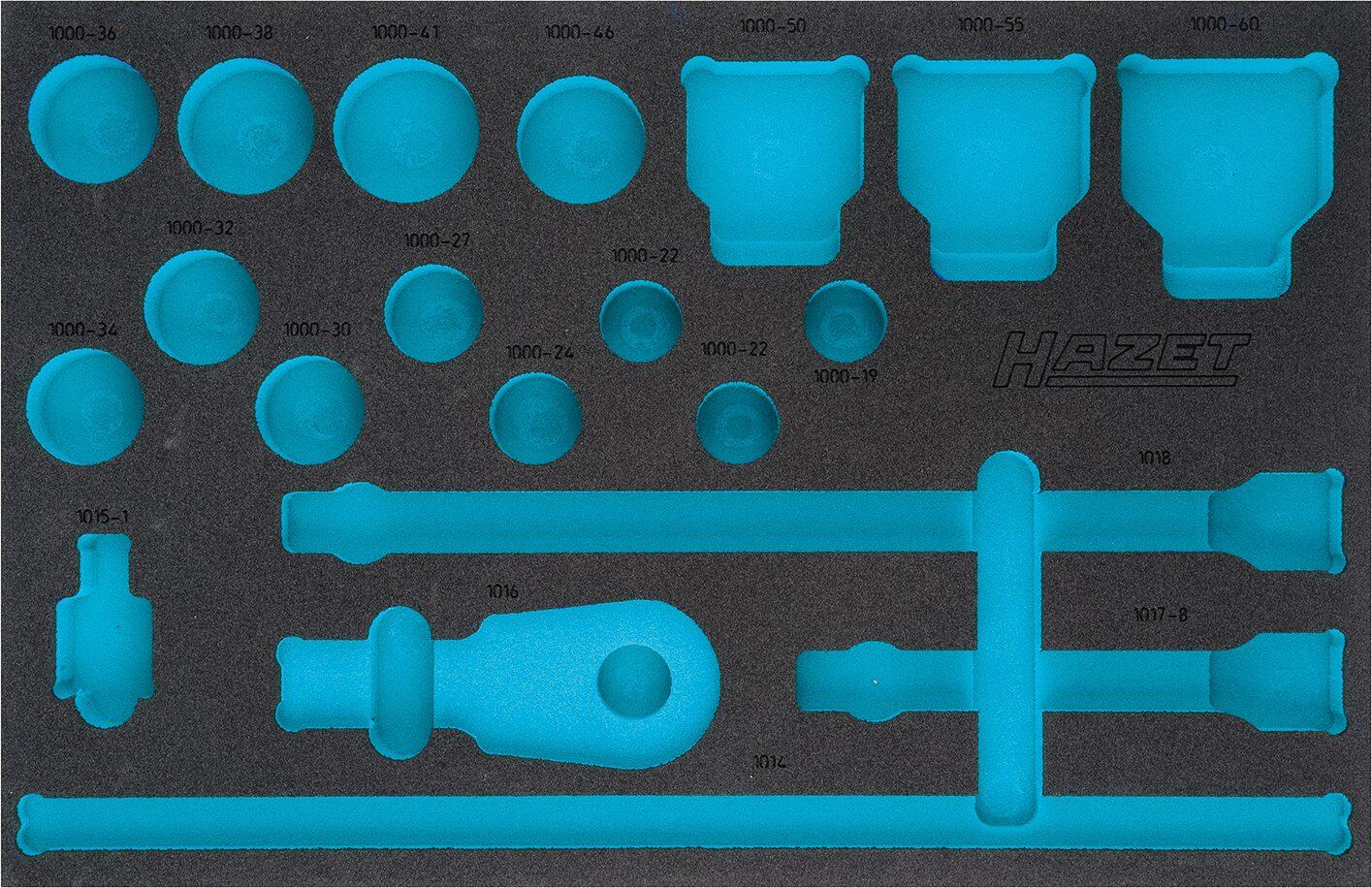 HAZET 2-Komponenten Weichschaum-Einlage 163-406L