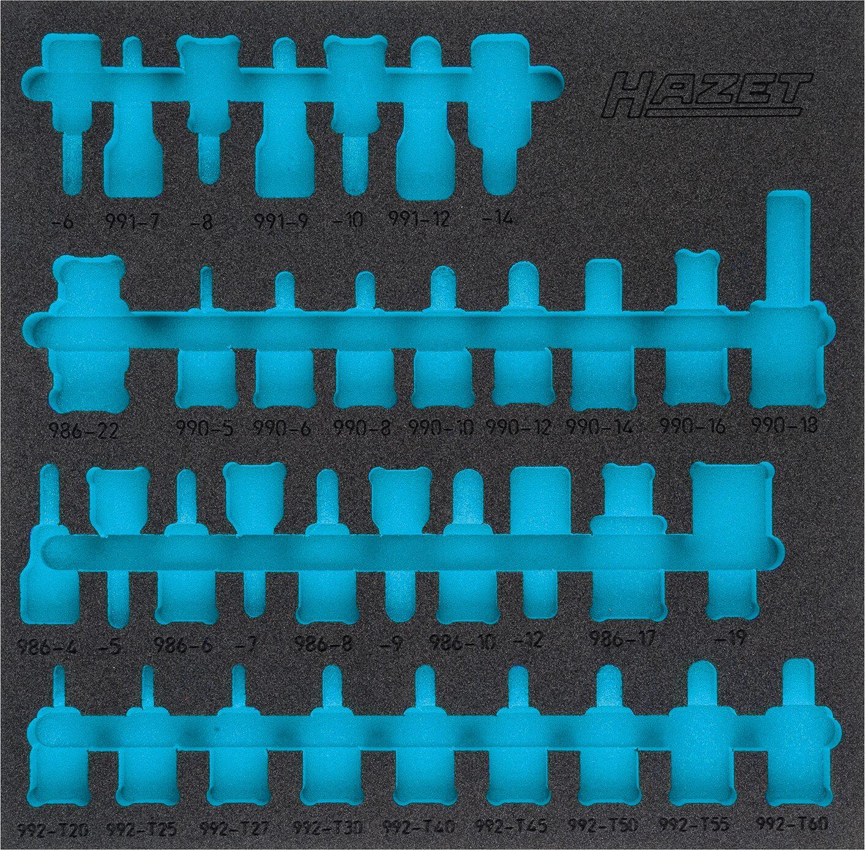 HAZET 2-Komponenten Weichschaum-Einlage 163-407L