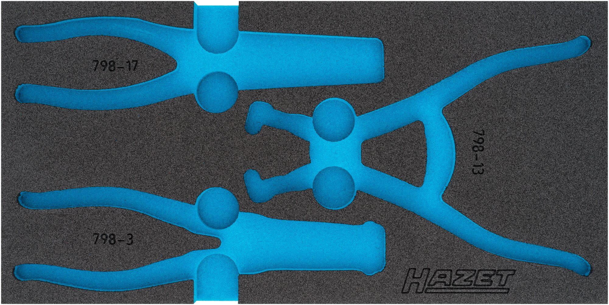 HAZET 2-Komponenten Weichschaum-Einlage 163-425L