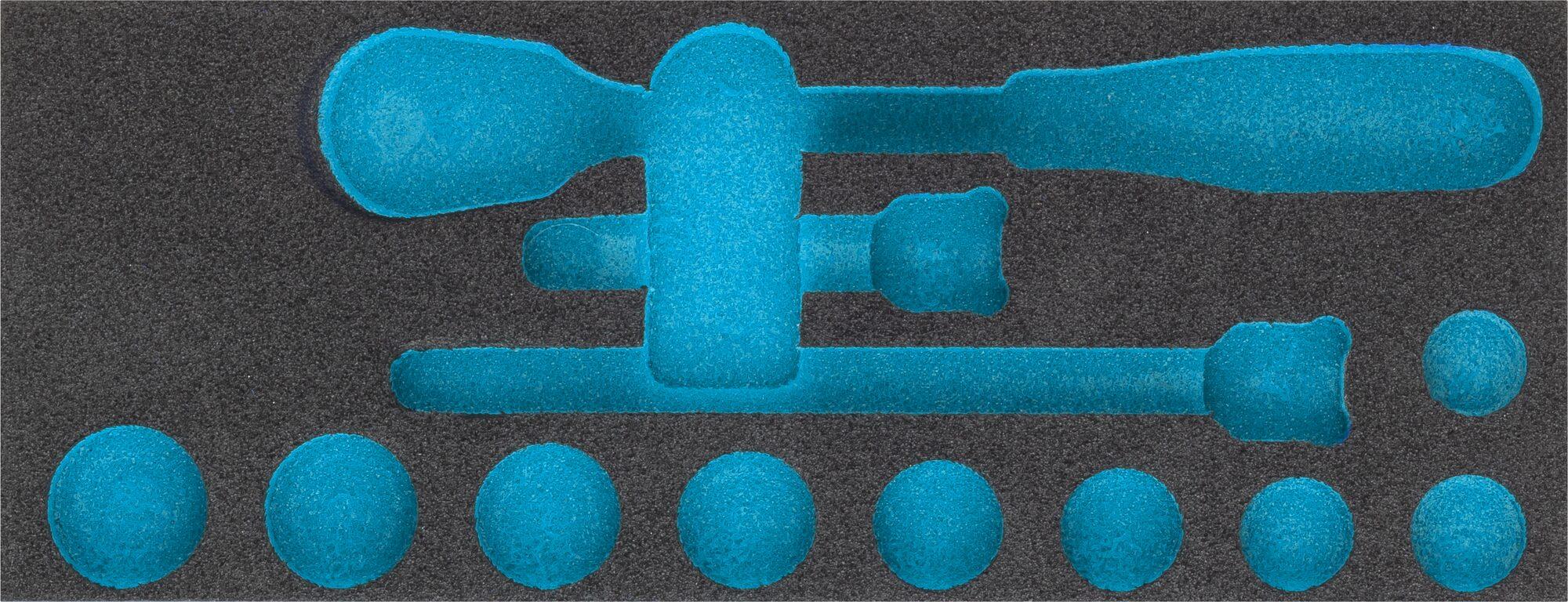 HAZET 2-Komponenten Weichschaum-Einlage 163-454L
