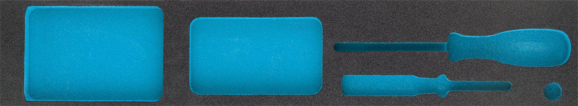 HAZET 2-Komponenten Weichschaum-Einlage 163-455L
