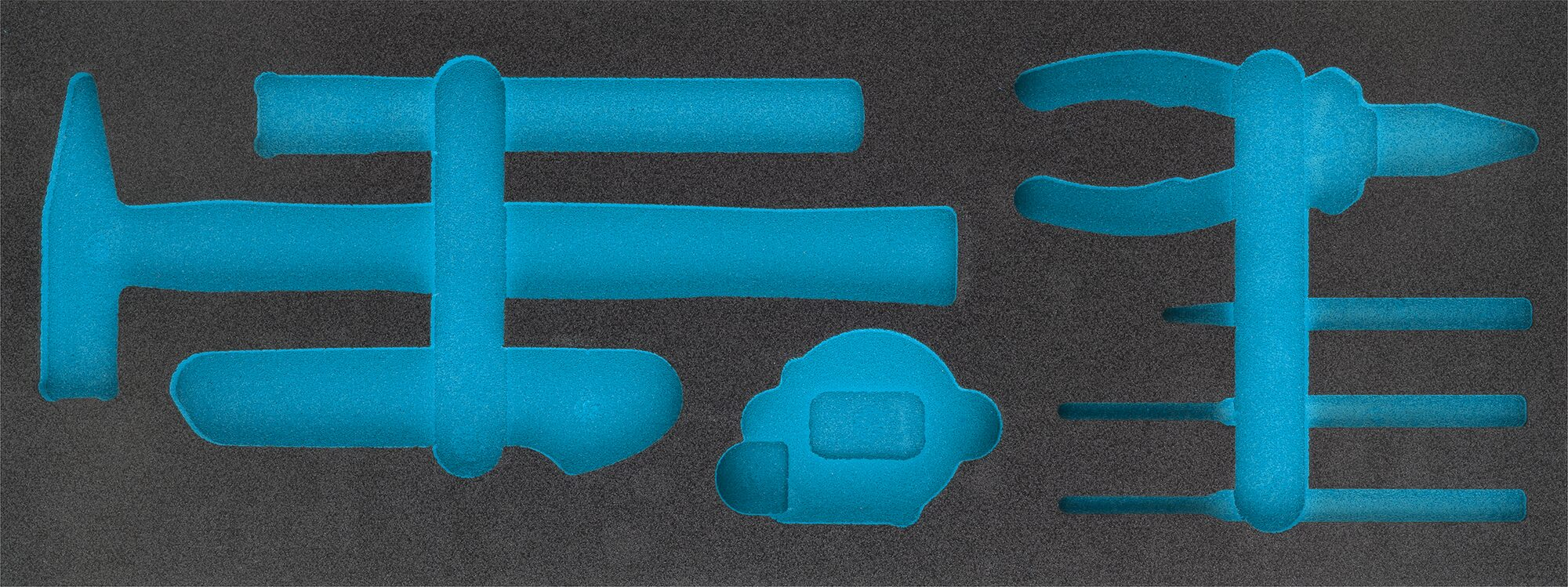 HAZET 2-Komponenten Weichschaum-Einlage 163-456L