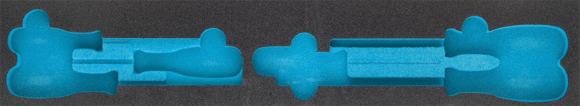 HAZET 2-Komponenten Weichschaum-Einlage 163-457L