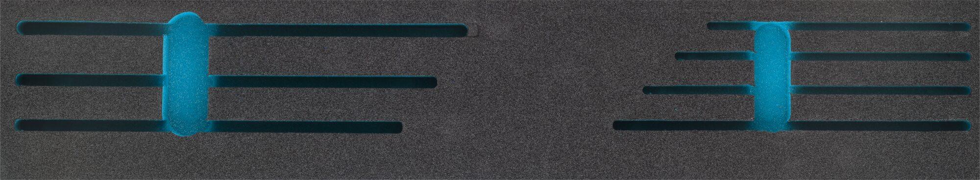 HAZET 2-Komponenten Weichschaum-Einlage 163-458L