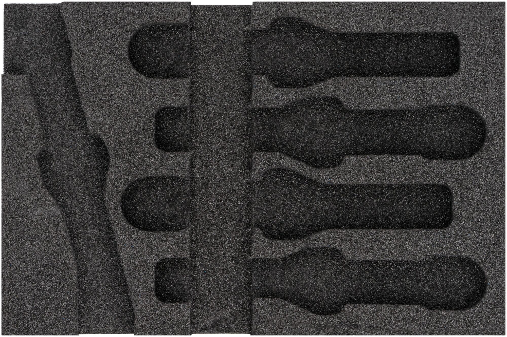 HAZET 2-Komponenten Weichschaum-Einlage 163-467L
