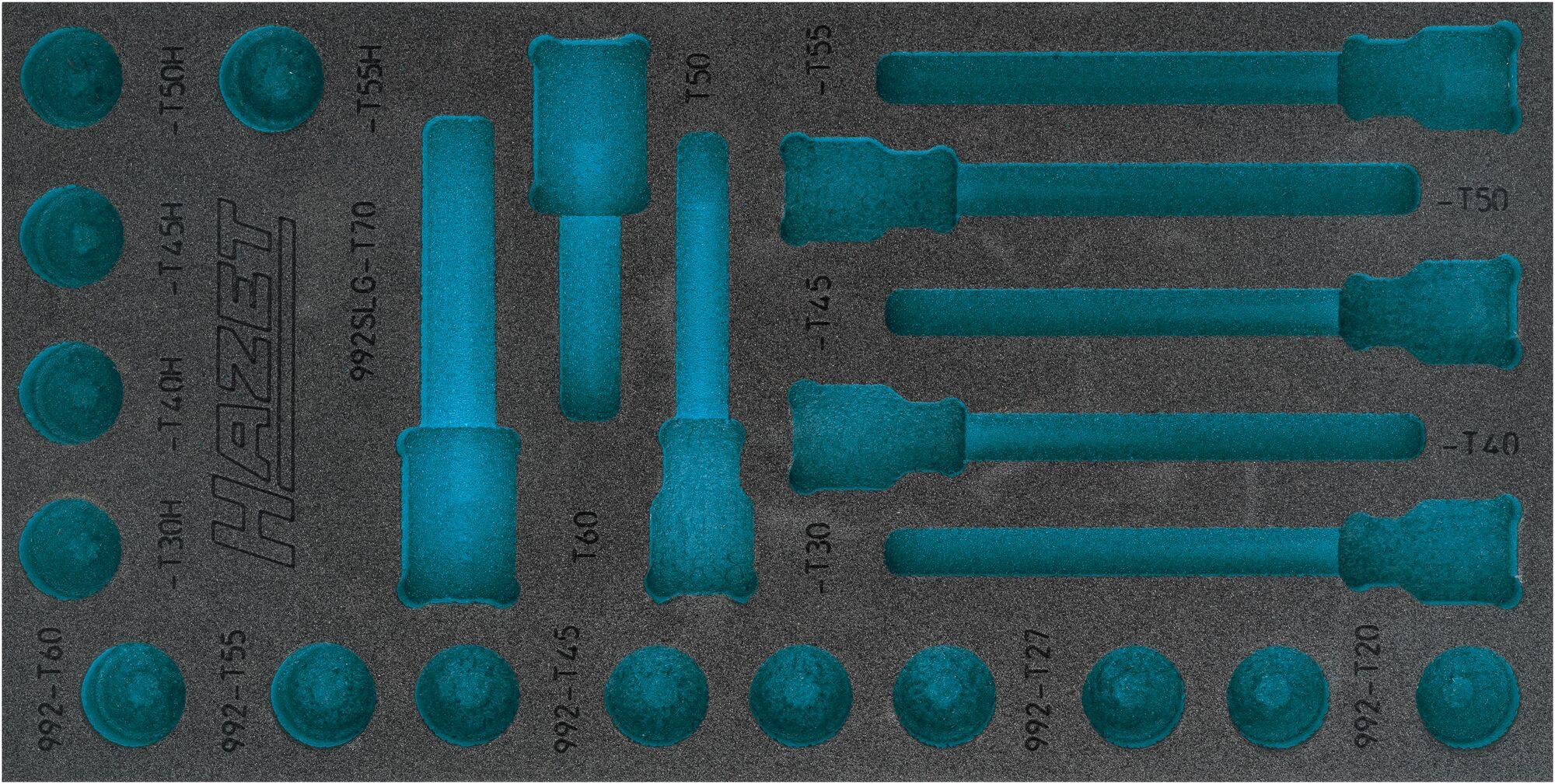 HAZET 2-Komponenten Weichschaum-Einlage 163-492L