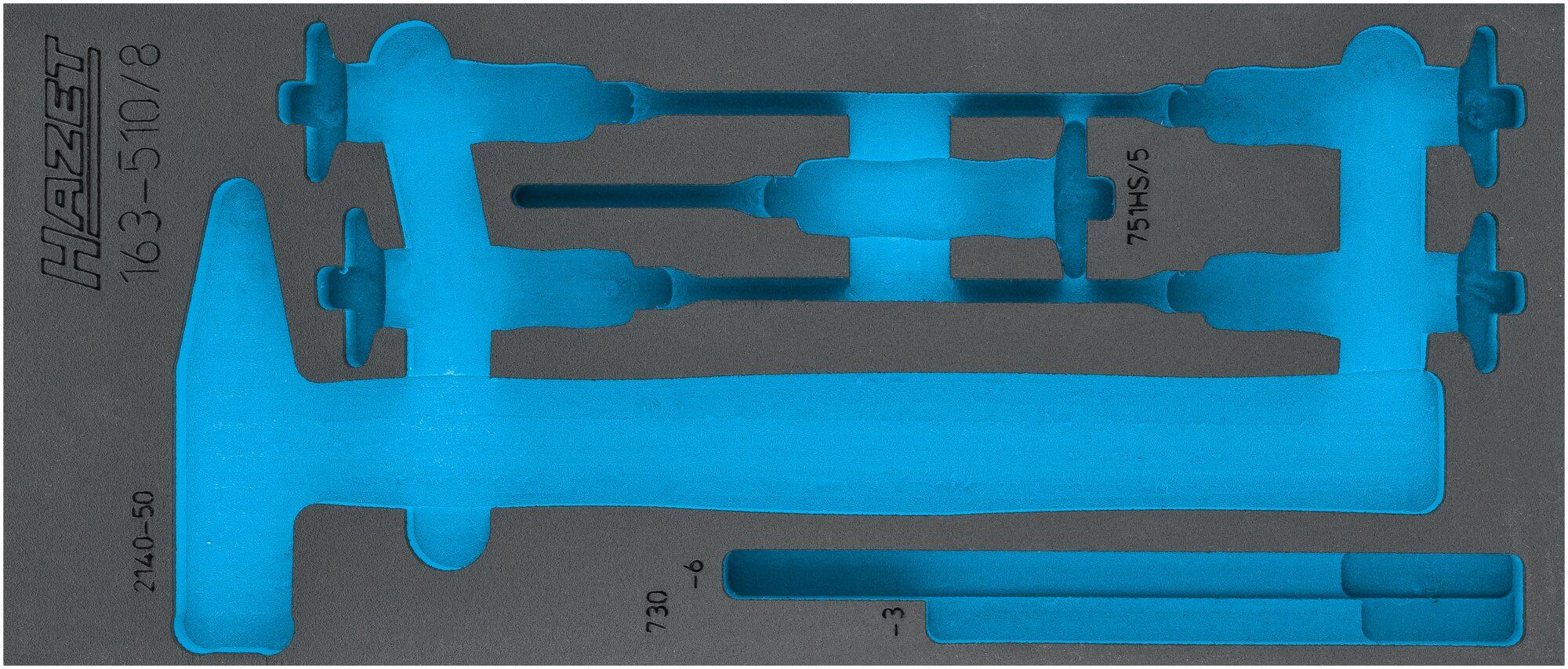 HAZET 2-Komponenten Weichschaum-Einlage 163-510L