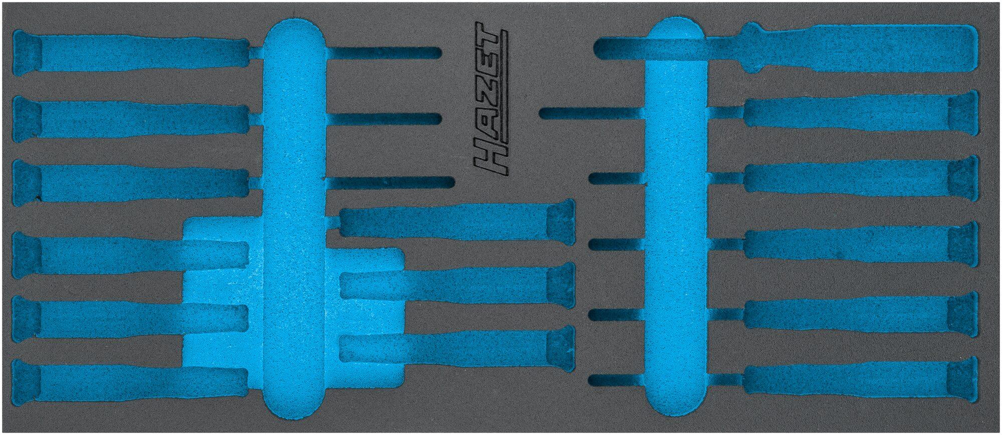 HAZET 2-Komponenten Weichschaum-Einlage 163-517L