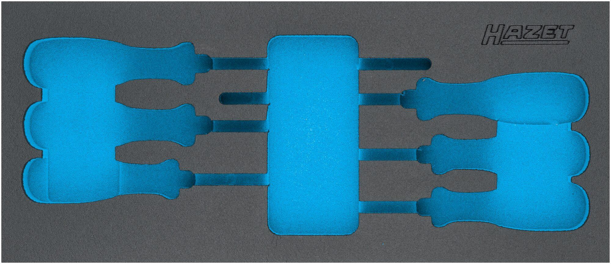 HAZET 2-Komponenten Weichschaum-Einlage 163-522L