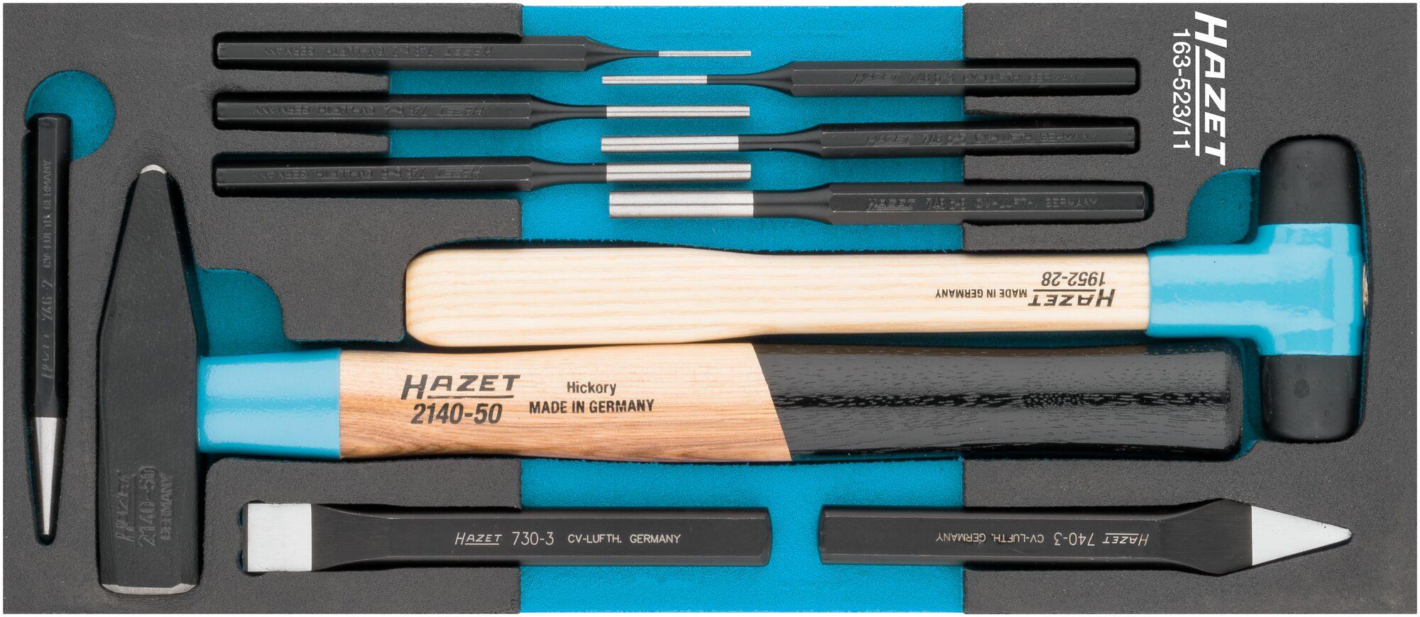 HAZET Universal Satz 163-523/11 ∙ Anzahl Werkzeuge: 11