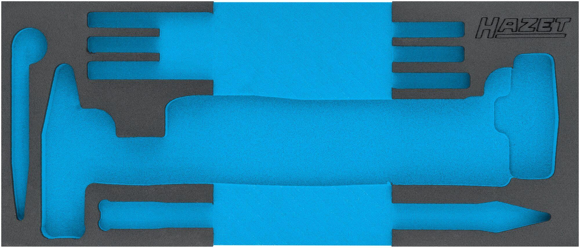 HAZET 2-Komponenten Weichschaum-Einlage 163-523L