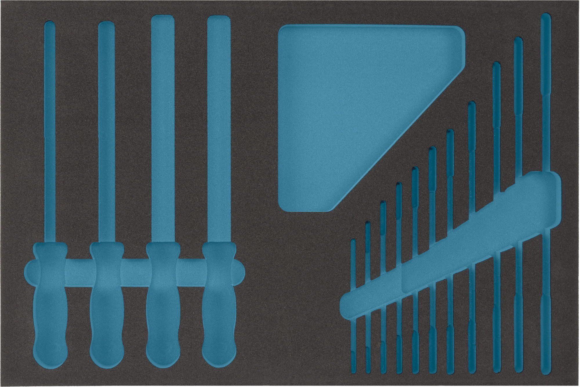 HAZET 2-Komponenten Weichschaum-Einlage 163-55L