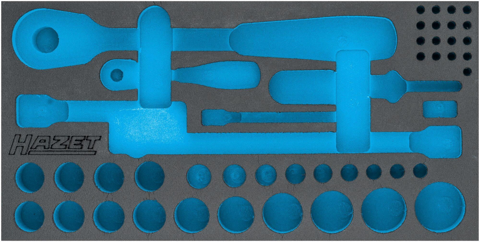 HAZET 2-Komponenten Weichschaum-Einlage 163-568L