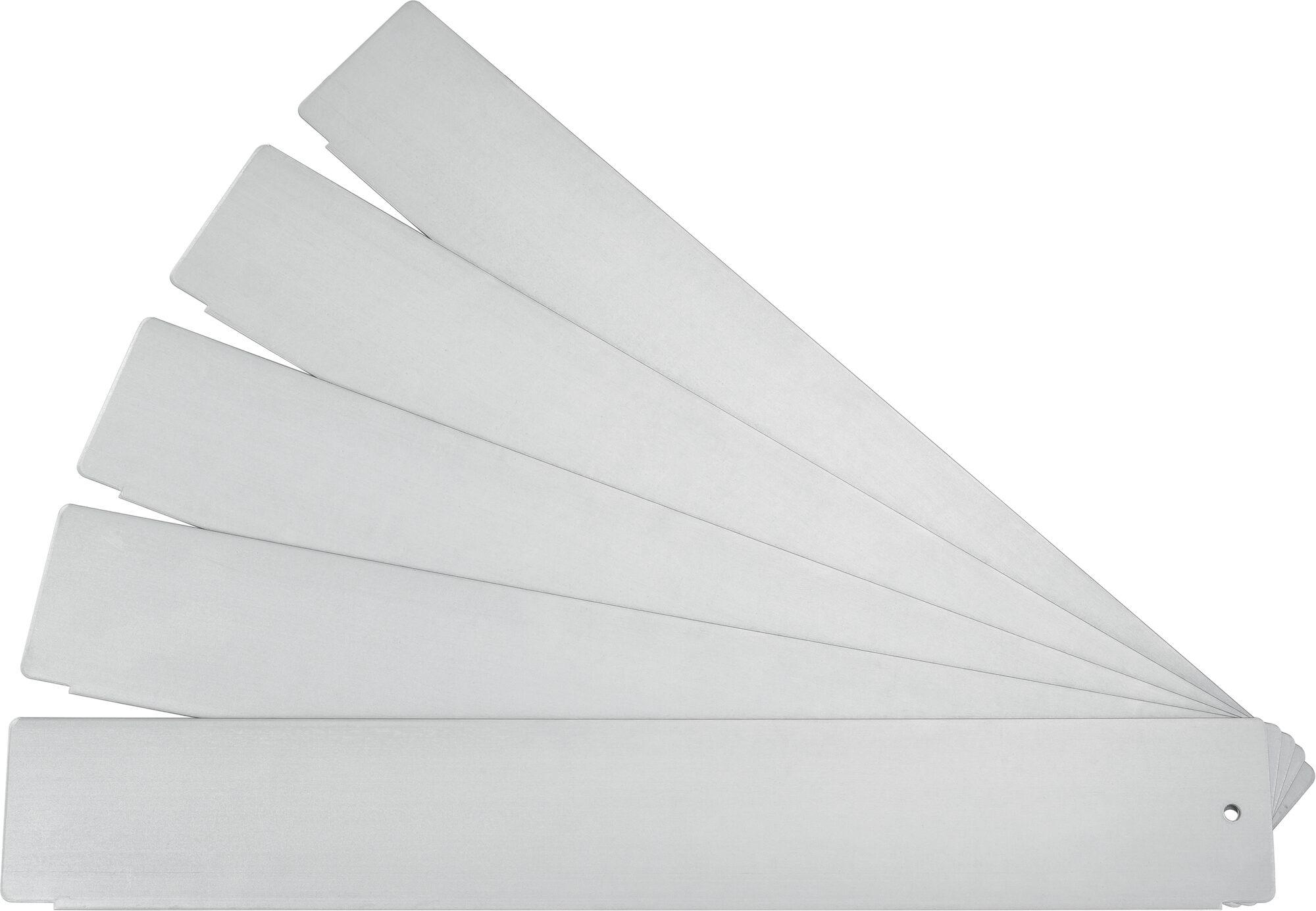 HAZET Trennbleche ∙ flach 173-31/5 ∙ Anzahl Werkzeuge: 5
