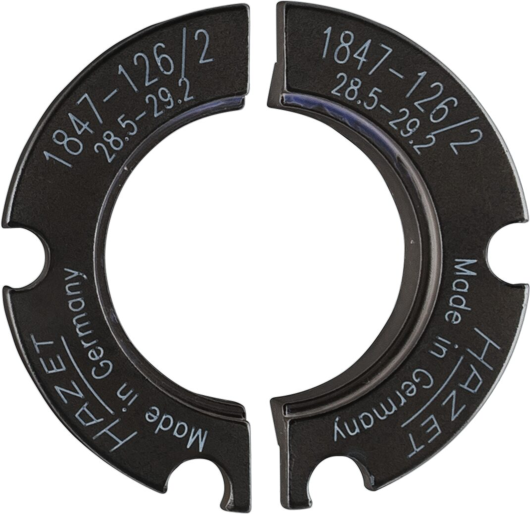 HAZET Halbschalenpaar ∙ ⌀ 28,5–29,2mm 1847-126/2