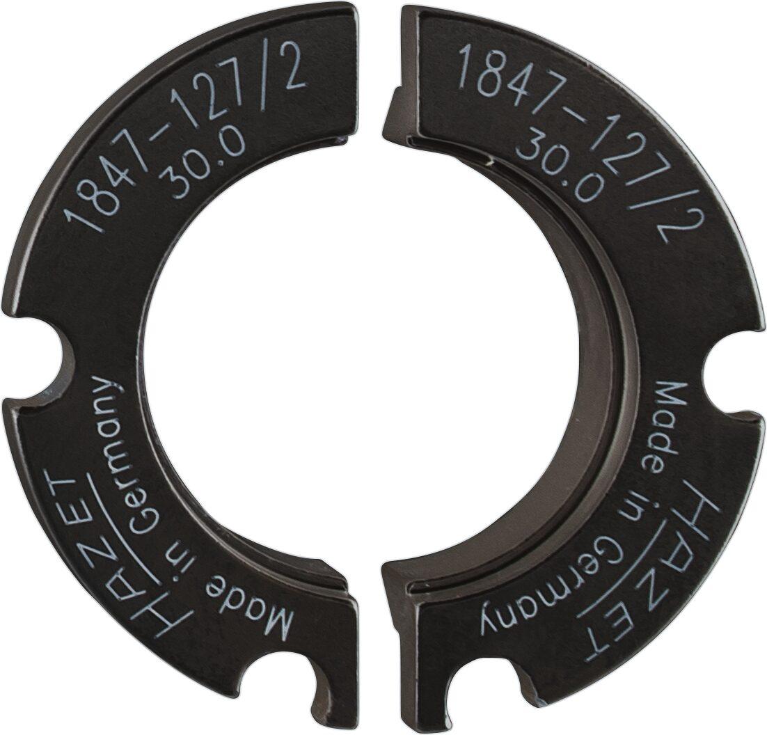HAZET Halbschalenpaar ∙ ⌀ 30mm 1847-127/2