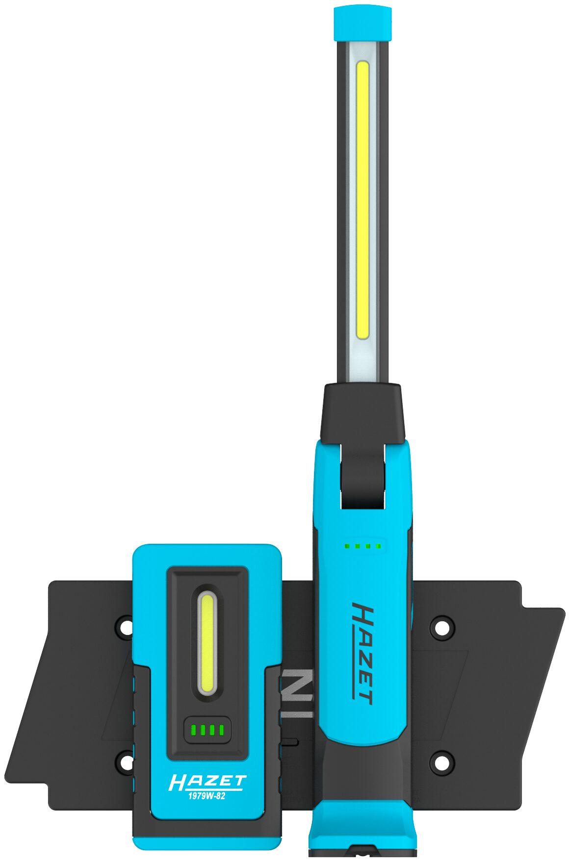 HAZET LED Lampen Satz ∙ wireless charging 1979W1/3 ∙ Anzahl Werkzeuge: 3