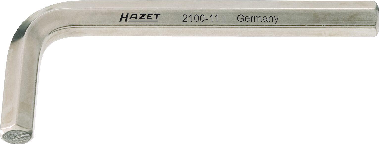 HAZET Winkelschraubendreher 2100-025 ∙ Innen-Sechskant Profil ∙ 2.5 mm