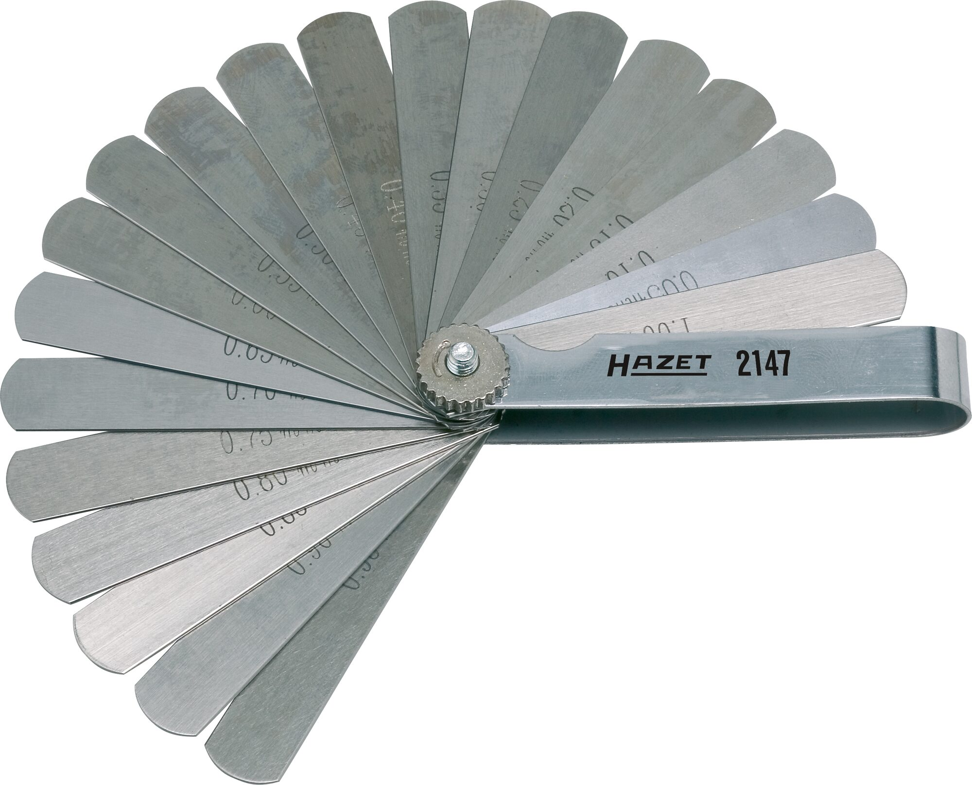 HAZET Fühlerlehre 2147 ∙ 0,05–1,0