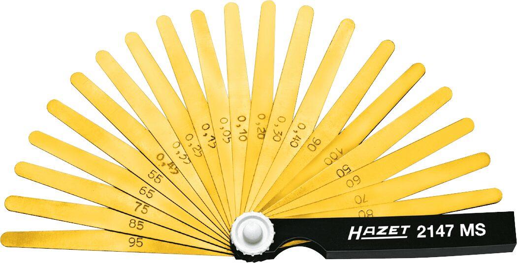 HAZET Fühlerlehre 2147MS ∙ 0,05–1,0