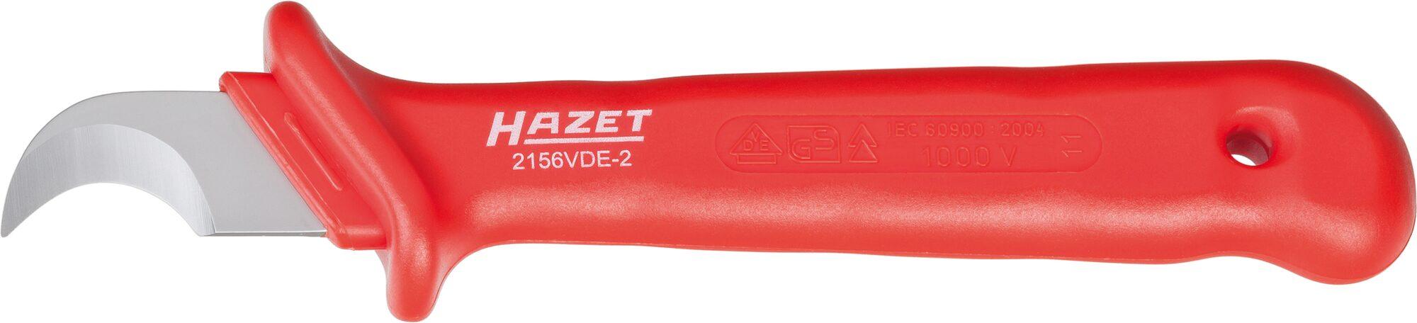 HAZET Kabel- und Abisoliermesser ∙ schutzisoliert 2156VDE-2