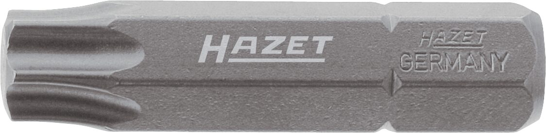HAZET Bit 2224-T50 ∙ Sechskant massiv 8 (5/16 Zoll) ∙ Innen TORX® Profil ∙ T50