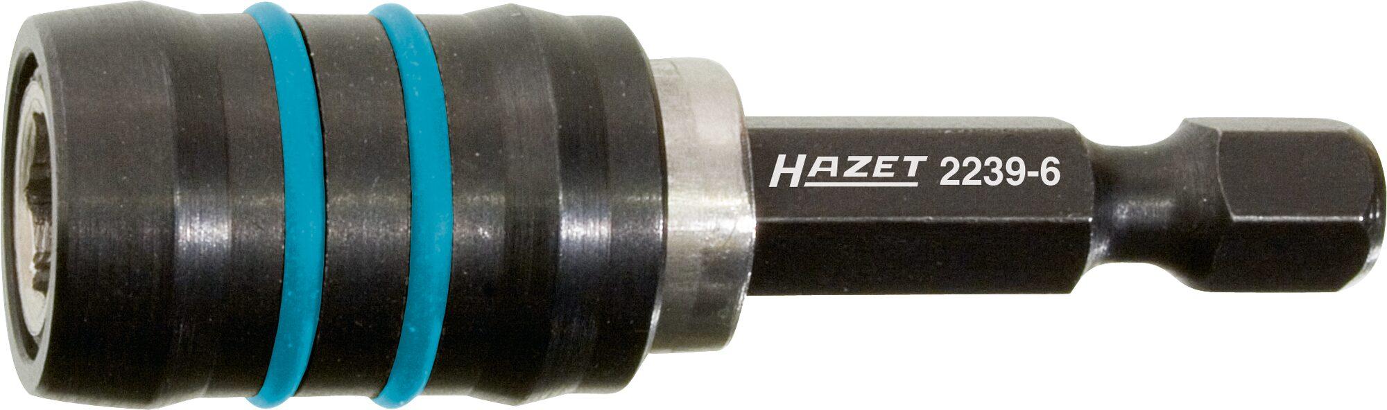 HAZET Adapter 2239-6 ∙ Sechskant massiv 6,3 (1/4 Zoll) ∙ Sechskant hohl 6,3 (1/4 Zoll)