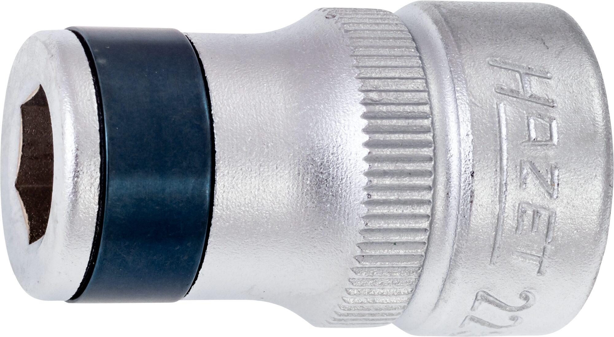 HAZET Adapter 2250-3 ∙ Vierkant hohl 10 mm (3/8 Zoll) ∙ Sechskant hohl 8 mm (5/16 Zoll)