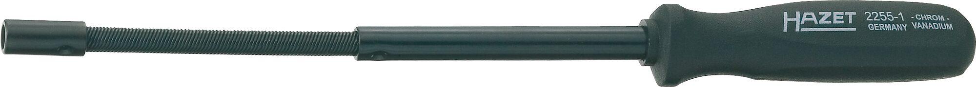 HAZET Bit Halter 2255-1 ∙ Sechskant hohl 6,3 (1/4 Zoll) ∙ 310 mm