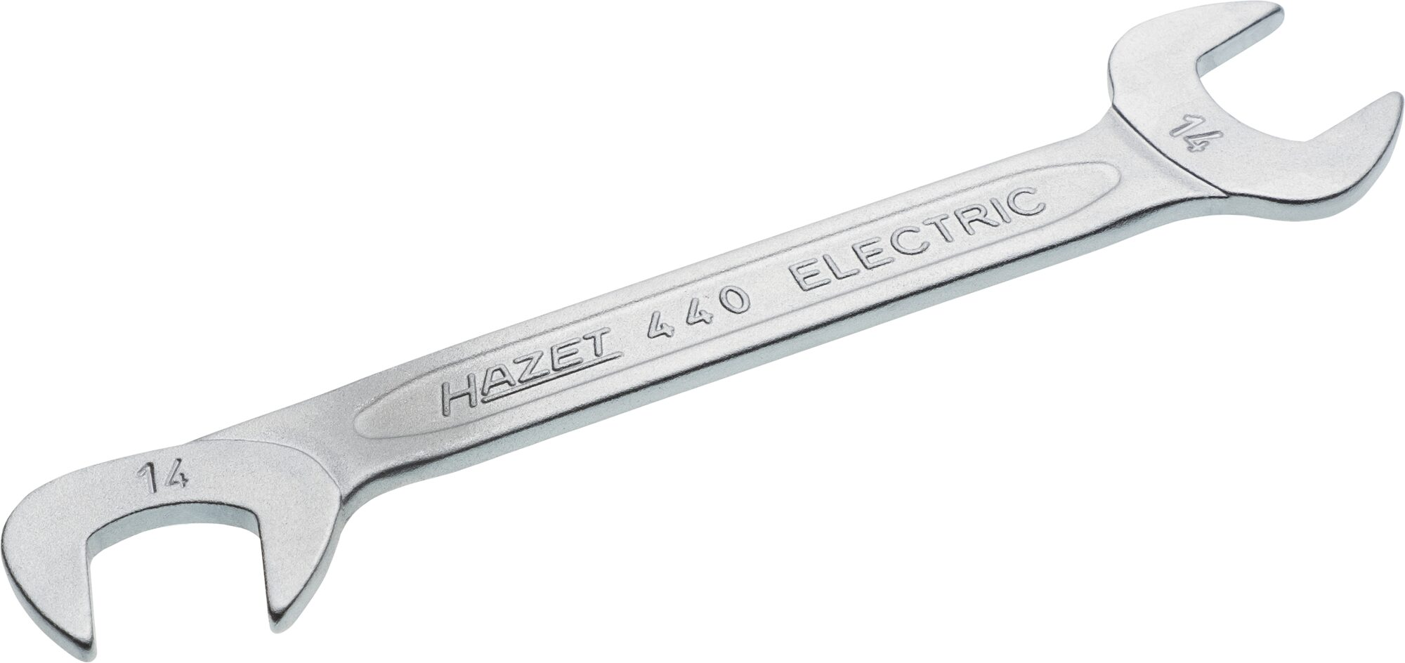 HAZET Doppel-Maulschlüssel 440-14 ∙ Außen-Sechskant Profil ∙ 14 mm