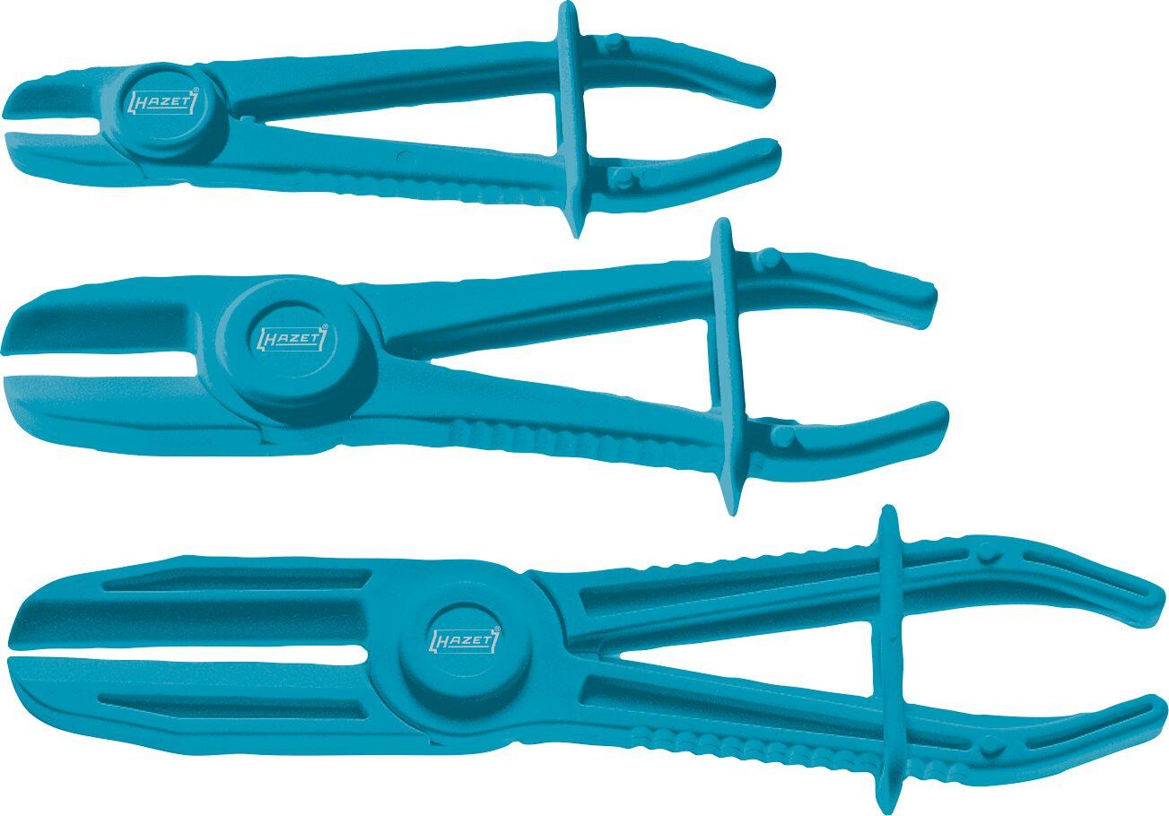 HAZET Abklemm-Zangen Satz 4590/3 ∙ Anzahl Werkzeuge: 3