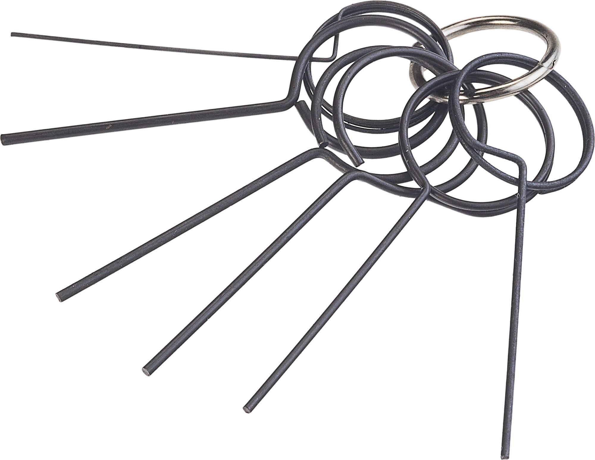 HAZET Fixierdorn Satz 4788-1/6 ∙ Anzahl Werkzeuge: 6