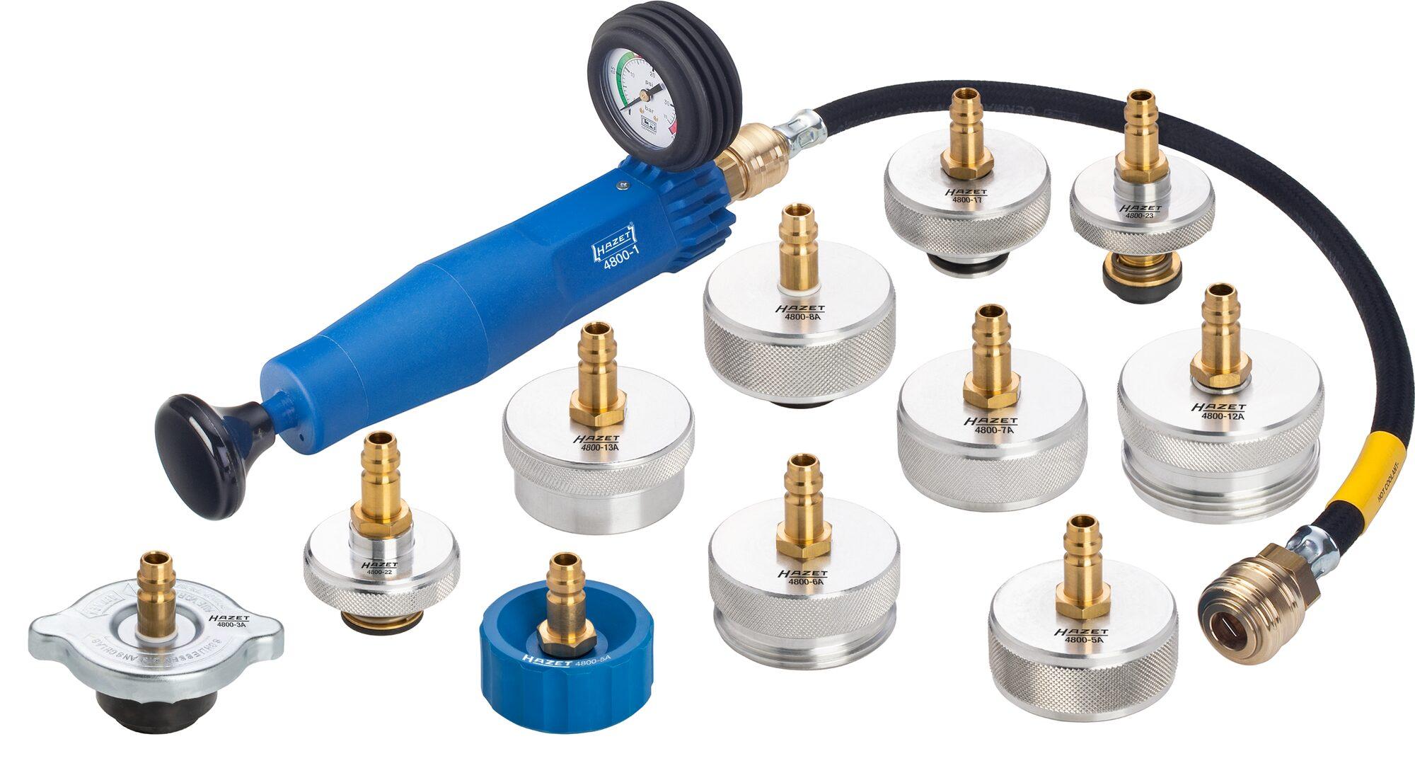 HAZET Kühlsystem-Tester 4800/12 ∙ Anzahl Werkzeuge: 12