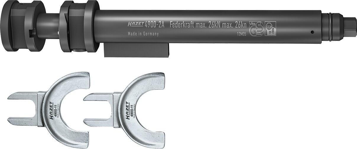 HAZET Sicherheits Federspanner-Satz 4900-2A/3 ∙ Anzahl Werkzeuge: 3