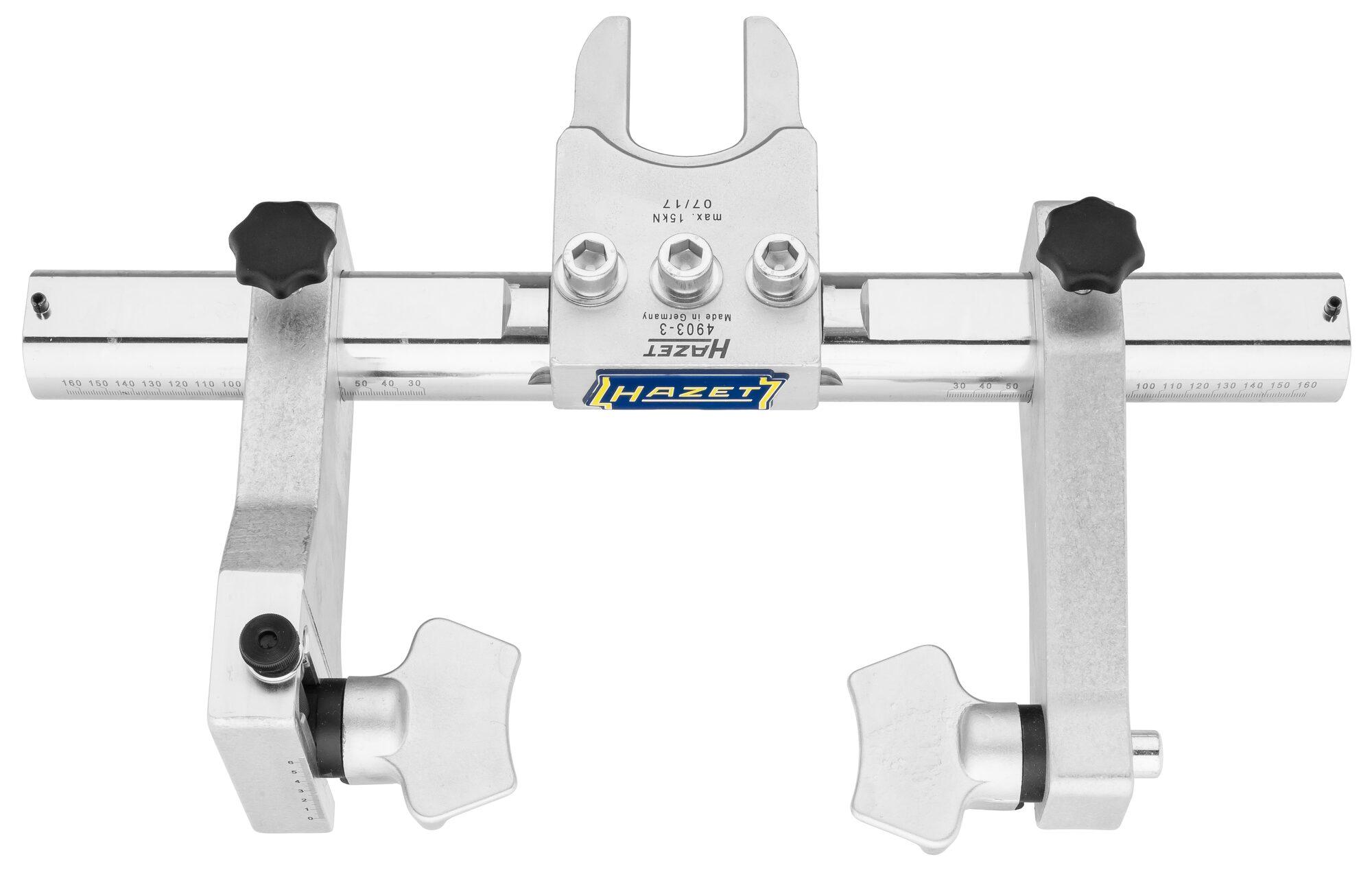 HAZET Universal Spannplatte ∙ verstellbar 4903-3