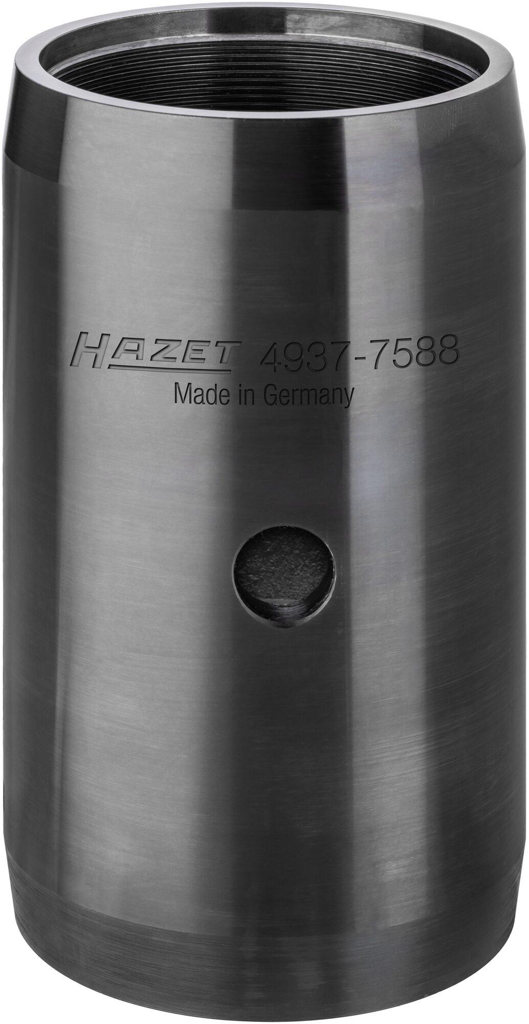 HAZET Nkw Montagehülse SAF – Gewinde M75x1,5 rechts/ links 4937-7588 ∙ 88 mm