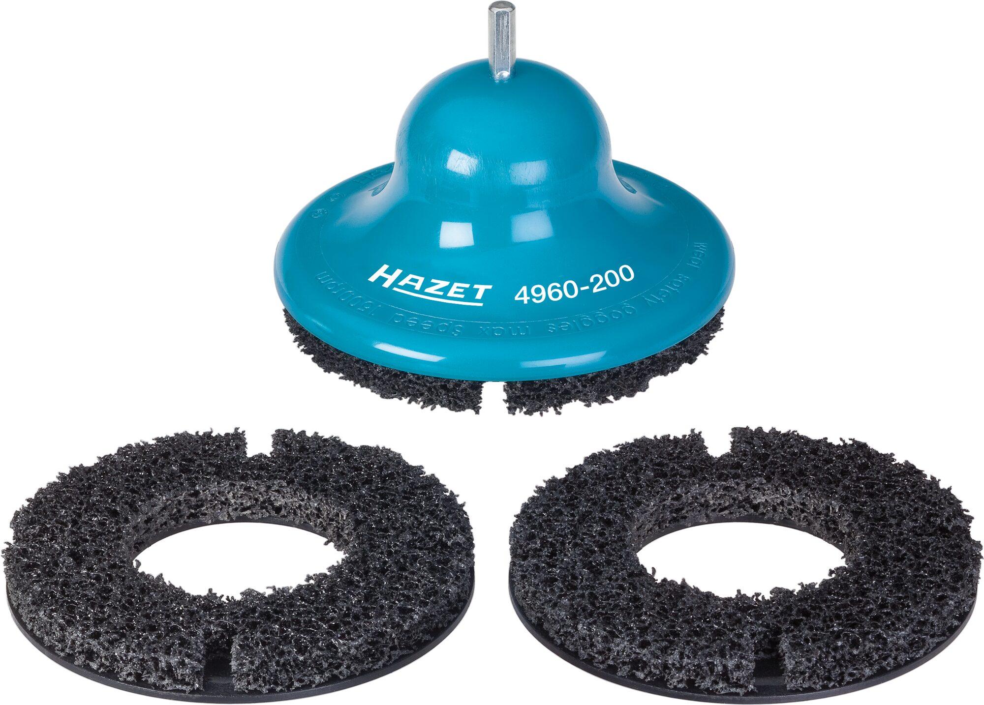 HAZET Radnaben-Schleifer 4960-200/3 ∙ 200 mm ∙ Anzahl Werkzeuge: 3
