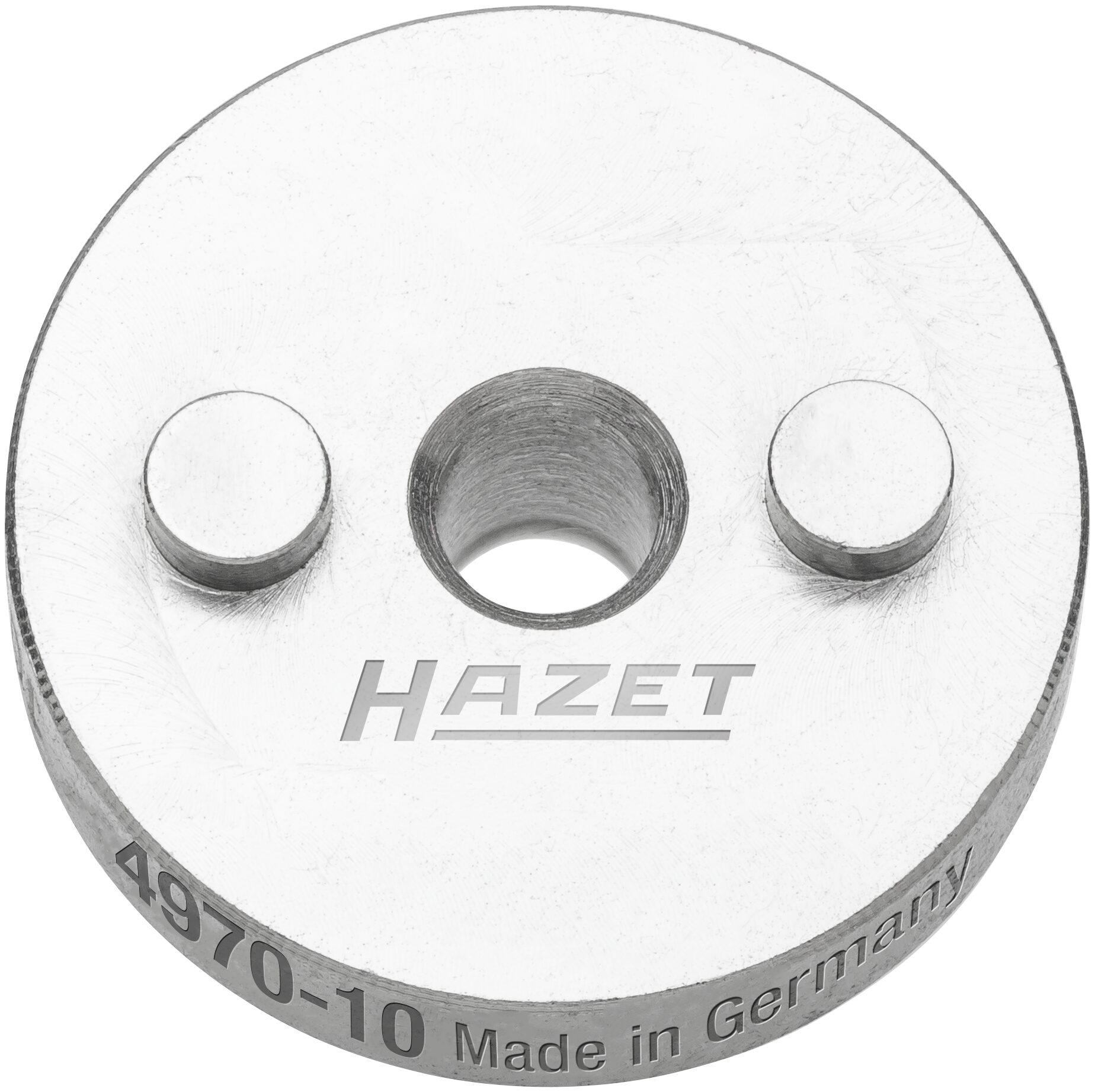 HAZET Druckplatte ∙ mit 2 Zapfen 4970-10