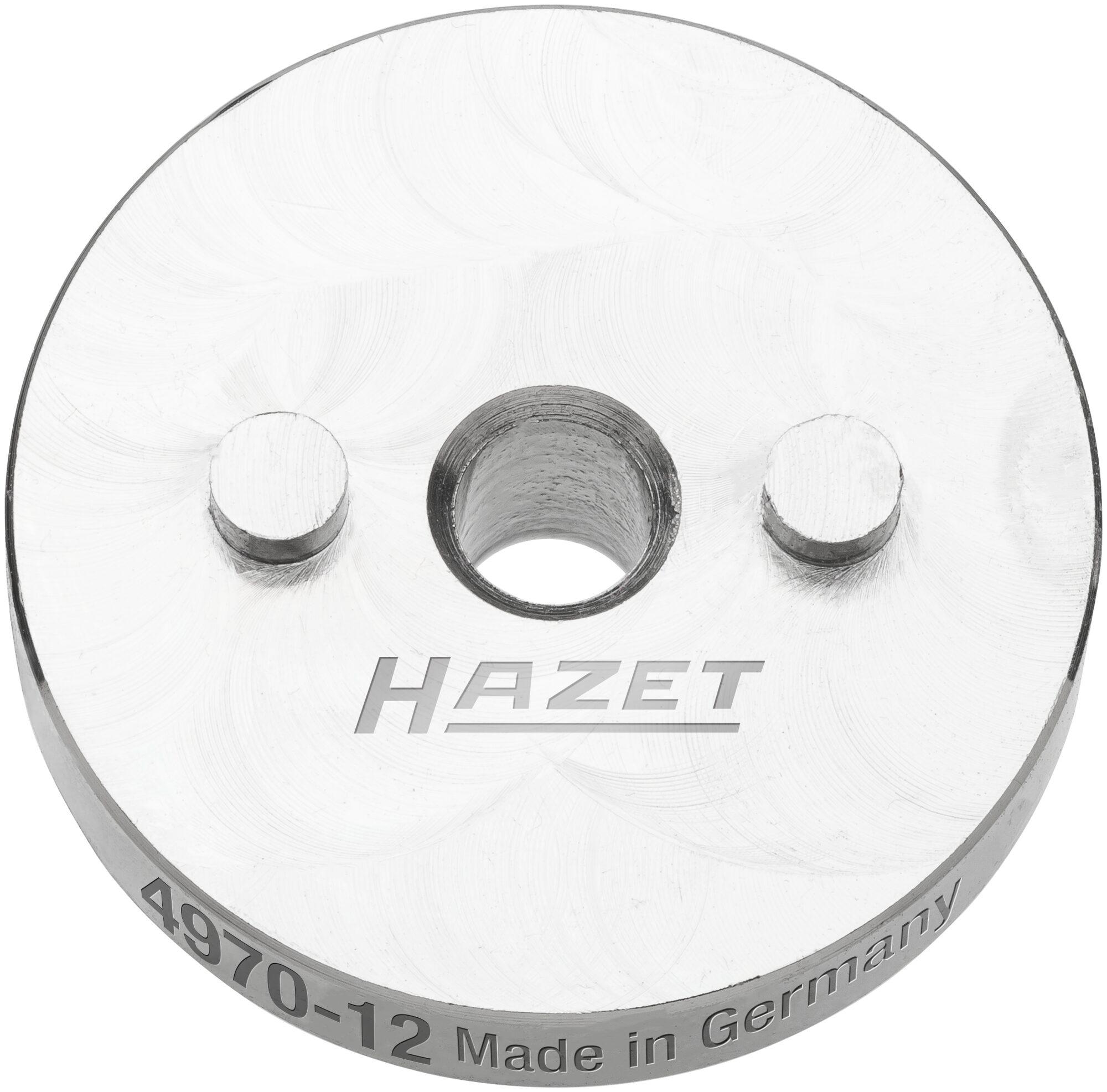 HAZET Druckplatte ∙ mit 2 Zapfen 4970-12