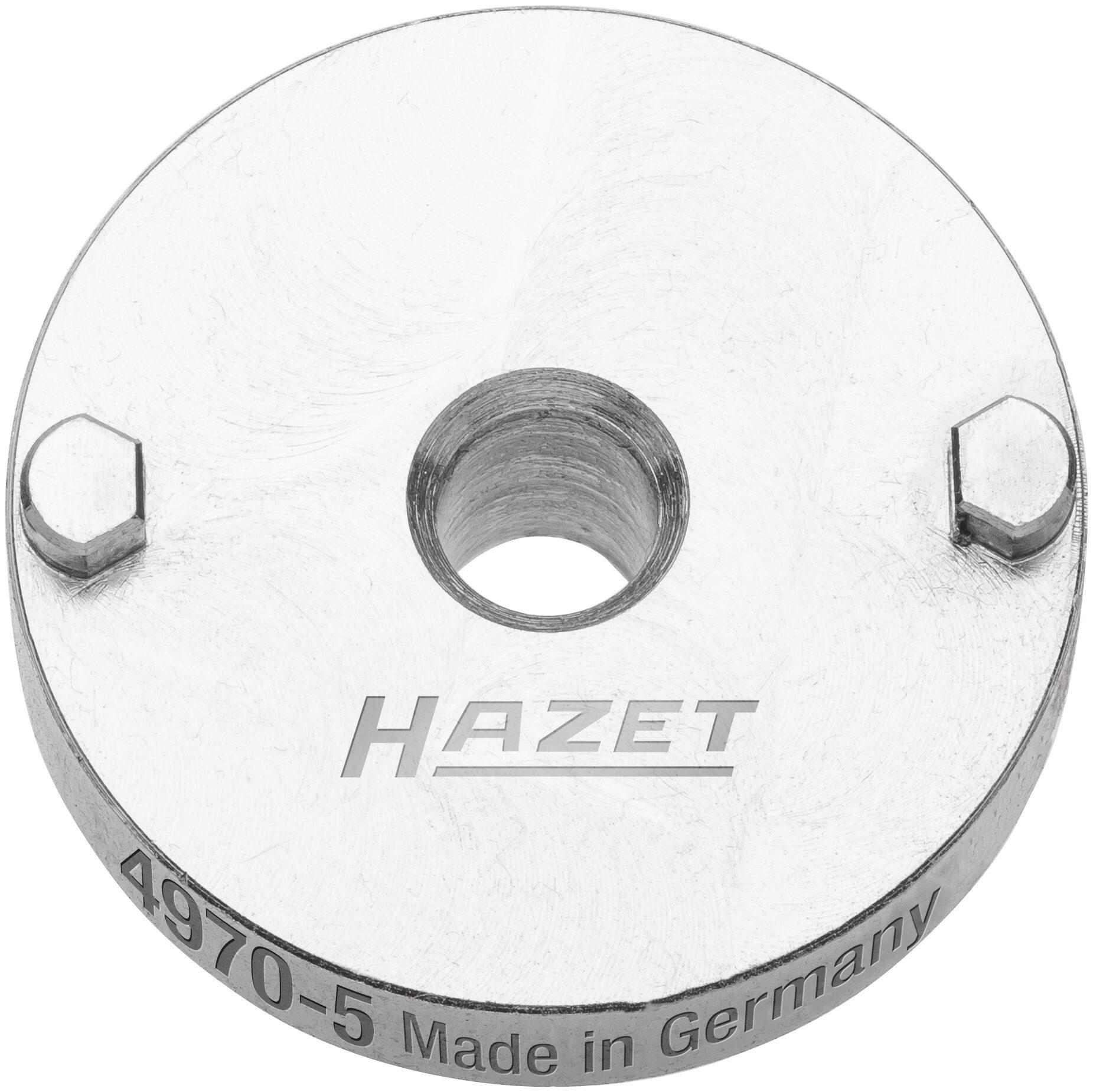 HAZET Druckplatte ∙ mit 2 Zapfen 4970-5
