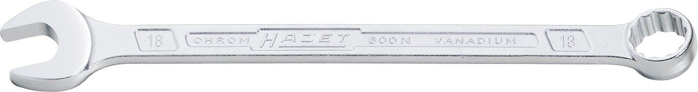 HAZET Ring-Maulschlüssel 600N-70 ∙ Außen-Doppel-Sechskant Profil ∙ 70 mm
