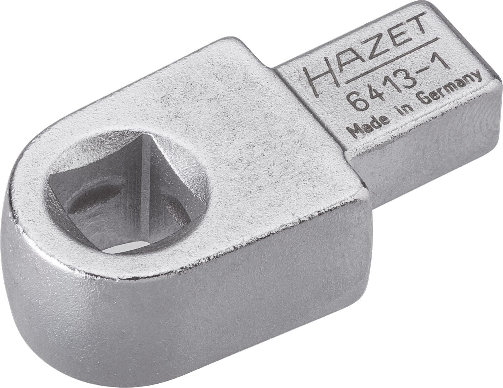HAZET Einsteck-Vierkant Halter 6413-1 ∙ Einsteck-Vierkant 9 x 12 mm ∙ Vierkant hohl 10 mm (3/8 Zoll)
