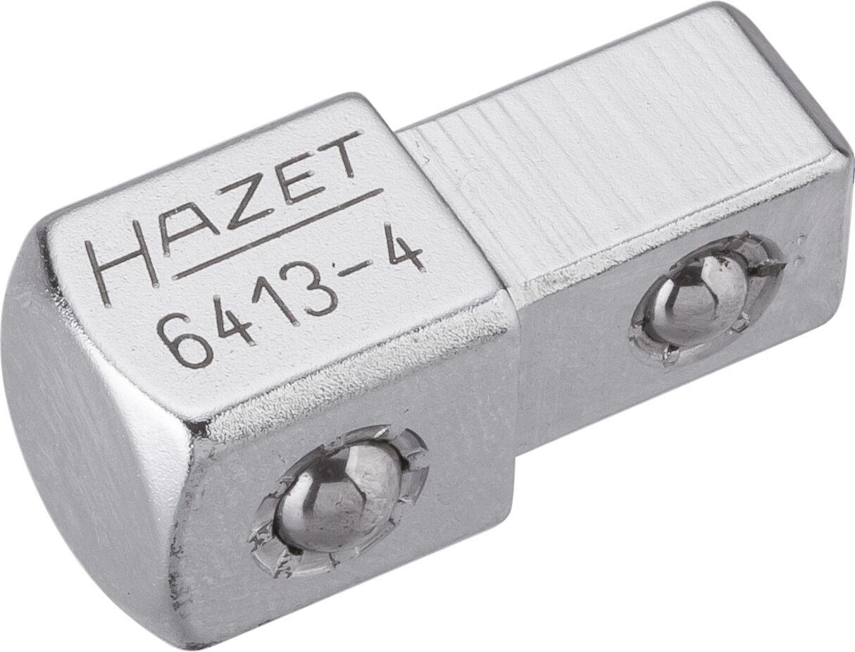 HAZET Durchsteck-Vierkant 6413-4 ∙ Vierkant massiv 10 mm (3/8 Zoll) ∙ Vierkant massiv 12,5 mm (1/2 Zoll)